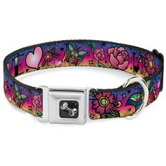 Buckle Down Purple LOVE Tattoo Seat Belt Buckle Dog Collar * Read more at the image link. (This is an affiliate link and I receive a commission for the sales)