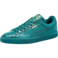 54b5559ed1fdc4 Puma Suede Metallic Fade Men s Sneakers ( 85) ❤ liked on Polyvore featuring  men s fashion