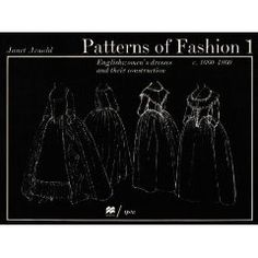 Janet Arnold, the master of costume construction.  I have her earlier period book.  I need this one.