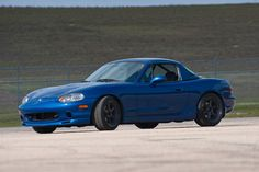 1999 Mazda Miata, 10th Anniversary Edition with matching hardtop.