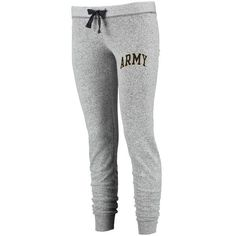Army Black Knights Women's Boardwalk French Terry Jogger Sweatpants - Gray - $33.99