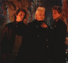 Still of (left to right) Jason Patric, Kiefer Sutherland and Brooke McCarter in The Lost Boys (1987)