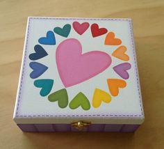 Caja corazones! Esto me encanto en serio chicos! Por fa denle LIKE .... Please LIKE!