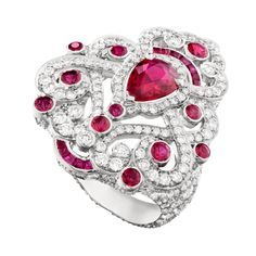 Fabergé Regalia Ruby Ring #Fabergé #diamond #ruby #ring