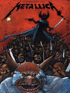 Studios — Home Metallica Concert, Metallica Art, Woodstock, Hard Rock, Rock Bands, Vintage Music Posters, Thrash Metal, Band Posters, Concert Posters