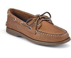 Authentic Original 2-Eye Boat Shoe, Sahara Leather, dynamic