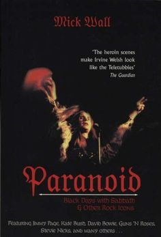 awesome  Paranoid: Black Days with Sabbath and Other Rock Icons