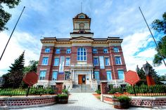 Old St. Boniface City Hall, Winnipeg, MB