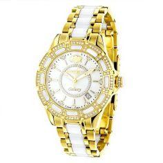 Luxurman Women's Diamond Watch Galaxy 2544