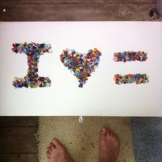 I Love Equality - my of This Is Love, Equal Rights, What Is Life About, Equality, Glass Art, Original Art, Hearts, Collage, Artwork
