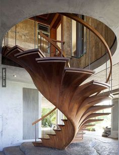 22款最美的樓梯設計,看完絕對會讓你更喜歡跑到二樓。 - boMb01