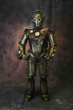 Steampunk Iron Gentleman Cyberman Doctor Who costume at Dragon*Con 2013. How did we miss this???