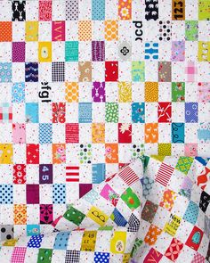 Rectangle Checkerboard Quilt | Red Pepper Quilts 2016