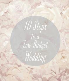 427749c52b 10 Steps to a Successful Low Budget DIY Wedding Diy Wedding On A Budget