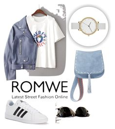 """""""Love it"""" by havka ❤ liked on Polyvore featuring Ray-Ban, Acne Studios, adidas, Steve Madden and Skagen"""