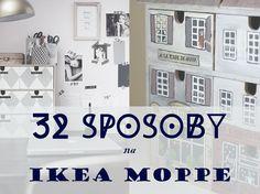 Ikea moppe: 32 sposoby na komódkę
