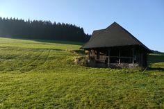 Nicht in den Alpen, nicht in den Bündner Bergen: Der erste Skilift der Welt stand hier im Schwarzwald beim Mühlenhaus in Oberschollach. - Tageswoche