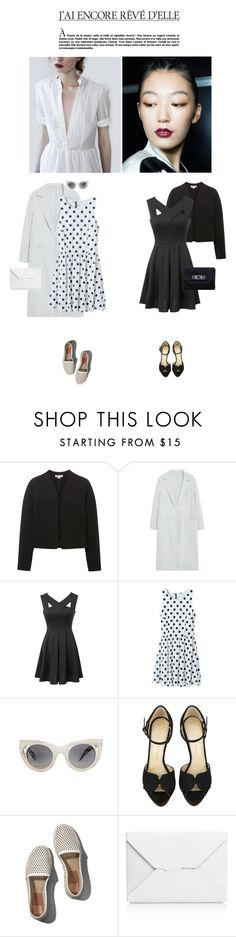 """""""Untitled #619"""" by tamara-40 ❤ liked on Polyvore featuring mode, Whistles, MANGO, Alice McCall, CC SKYE, Charlotte Olympia, Abercrombie & Fitch, J.W. Anderson, Dune et women's clothing"""