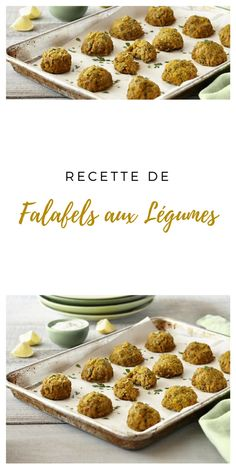 #recettevégétarienne #falafel #légumes Falafels, Beignets, Cereal, Breakfast, Food, Mint, Veggie Dishes, Vegetarische Rezepte, Morning Coffee
