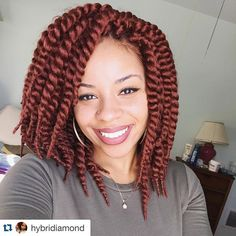 "#Repost from @hybridiamond  The only good thing about all this snow is that it gives great lighting for selfies   Janet Collection Havana Mambo Twist 12"" @janetcollection Hair Provided by @beauty_depot www.shopbeautydepot.com"