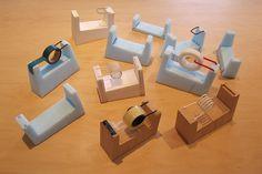 TSUKUSHI Tape Cutter PROCESS / DRILL DESIGN