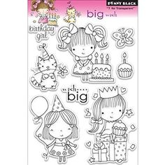 """Penny Black Clear Stamps 5""""X7.5"""" Sheet-Big Wish"""