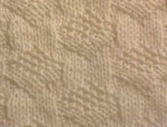 Purl Points stitch is a stitch pattern which involves many knit and purl stitches creating a hexagonal design as shown below. Knit Purl Stitches, Knitting Stiches, Free Knitting, Knitting Patterns, Crochet Patterns, Sweater Patterns, Knitted Washcloths, How To Purl Knit, Knitting Projects