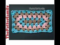 How to Crochet Rectangular Granny│by ThePatterfamily
