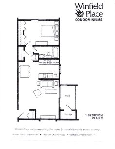 Exceptional One Bedroom House Plans