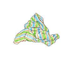 """Blanket 126 (Homecoming)"" by Joey Veltkamp.  #art #drawing #seattleartist"