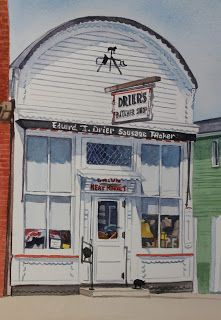 Drier's Butcher Shop has been owned and operated by the Drier family for generations.  Commissioned June 2012