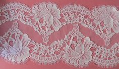French lace. Delicate Chantilly lace fine by DIYLaceAndTulle, $32.00