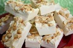 White Chocolate Fudge with cashews. It's to die for!