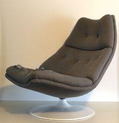 Online veilinghuis Catawiki: Geoffrey Harcourt door Artifort - draai fauteuil / zitschelp F591