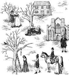 Salem Witch Trials Toile