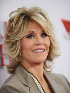Jane Fonda New Hairstyles Ed Ad   Fans Share