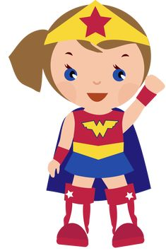 Superhero girl super hero clip art free clipart images clipartcow