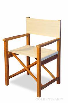 Teak Directors Chair
