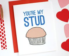 Funny Valentine Card by Row House 14