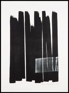 ♂ minimalist abstract Ink art black & white design Toko Shinoda