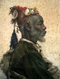 Portrait of Moorish Man José Tapiro y Baro (1830 — 1913, Spain) #Moors #Moorish #Moor #African
