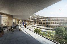 Dürig AG wins competition for student housing design ...  Architects: Dürig AG | Location: the University of Lausanne, Lausanne, Switzerland | Photographs: Courtesy of Dürig AG