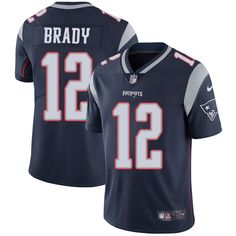 Nike Patriots Tom Brady Navy Blue Team Color Youth Stitched NFL Vapor  Untouchable Limited Jersey And Taco Charlton 97 jersey ccf687506