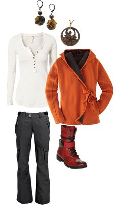 """Autumn Weekend Casual"" by adryad on Polyvore"
