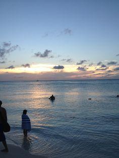 puesta de sol Aruba