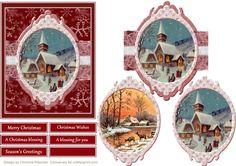 2 in 1 Christmas Scenes - CraftsuPrint