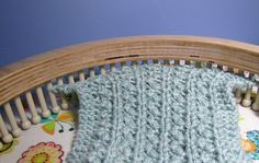 Loom Knitting the Punchwork instructions