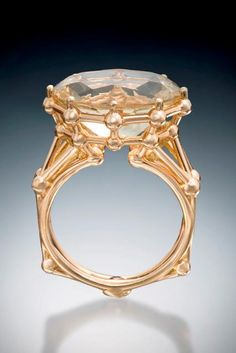 18k Yellow Gold Engagement Ring with Golden Labradorite - Michael Alexander // Pinned by Dauphine Magazine x Castlefield - Curated by Castlefield Bridal & Branding Atelier and delivering the ultimate experience for the haute couture connoisseur! Dauphine Magazine (luxury bridal and fashion crossover): www.dauphinemagazine.com, @dauphinemagazine on Instagram, and @dauphinemag on Pinterest • Visit Castlefield: www.castlefield.co and @ castlefieldco on Instagram / Luxury, fashion, weddings…