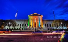 Minneapolis Institute Of Arts Mia At Night  Prints available from $17  #FineArt #Architecture #Landscape #Photography #InteriorDesign #CityScape #Office #Home  #Inspiration #Nature