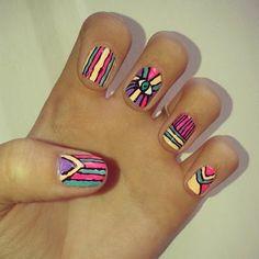 #NailArt #MariposasNailArt Nailart, Beauty, Butterflies, Cosmetology